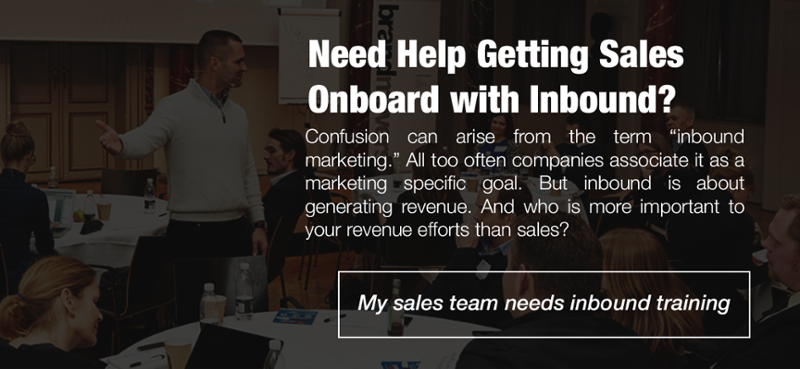 My Sales Team Needs Inbound Training