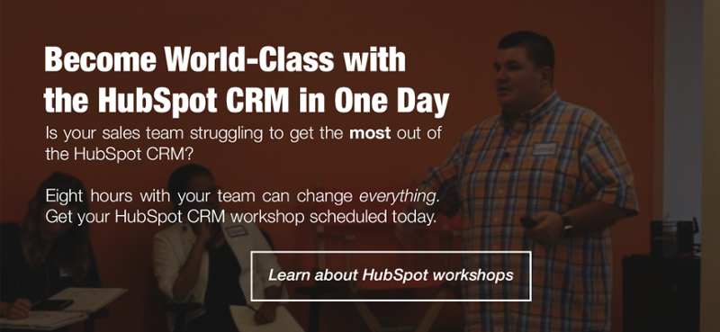 Book a HubSpot CRM Workshop