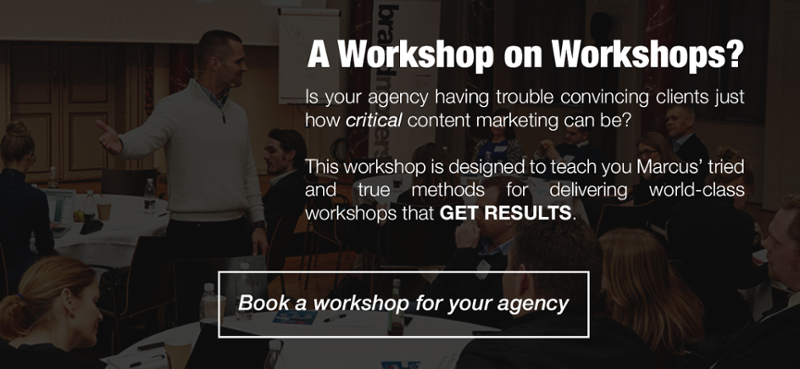 Book a WOW Workshop with Marcus Sheridan