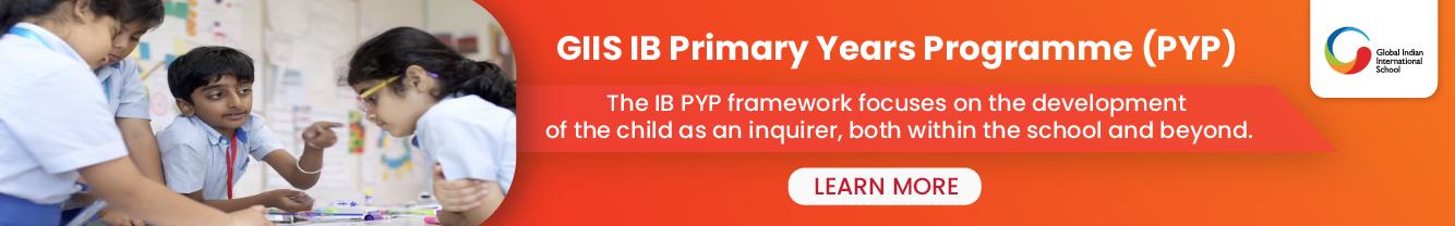 IB Primary Years Programme (IB PYP)