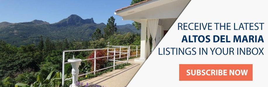 CTA - Subscribe to Altos del Maria