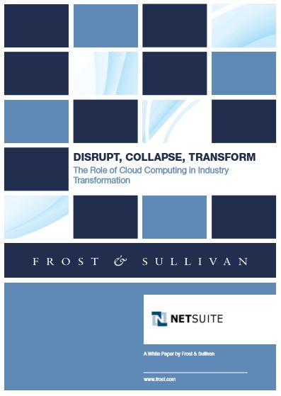 Disrupt, Collapse, Transform