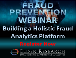 Webinar - Building a Holistic Fraud Analytics Platform Registration
