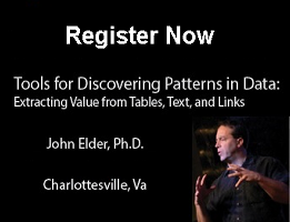 Tools For Discovering Patterns in Data Course Ad