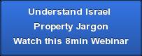Understand Israel  Property Jargon Watch this 8min Webinar