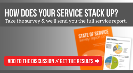 Take the State of Service Survey