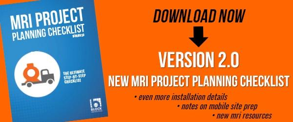 Free MRI Project Planning Checklist