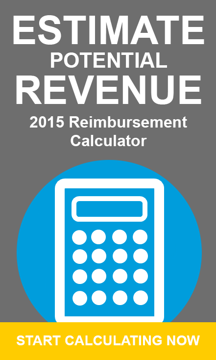 medicare reimbursement calculator 2014