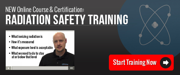 Radiation Safety Training - Online Course & Certification
