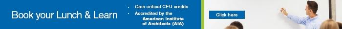 Book Your Lunch & Learn Today! Earn CEU Credits. Accredited by the AIA. Click  Here.