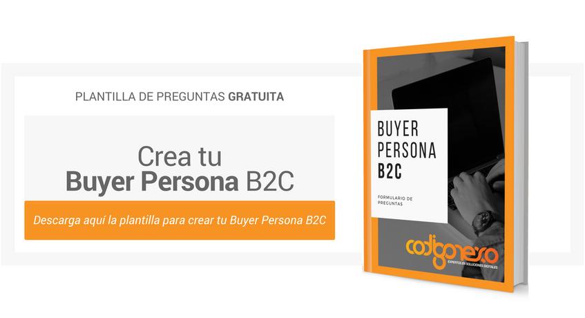 plantilla gratuita buyer persona b2c
