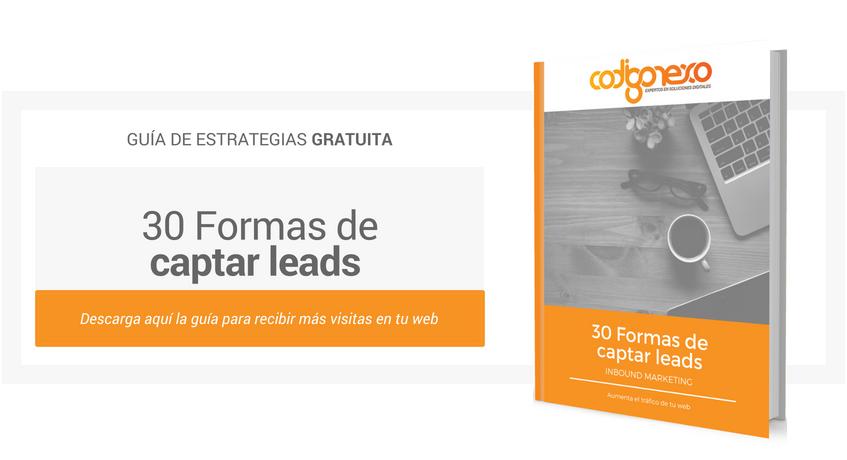 30 formas de captar leads