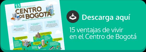 15 ventajas de vivir en el Centro de Bogotá