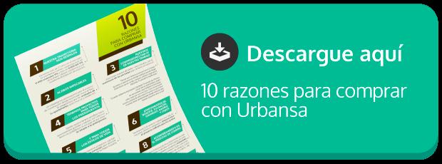 Razones para comprar con Urbansa