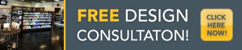 Free Design Consultation for pharmacy and retail display solutions