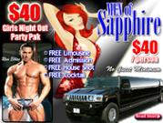 Men of Sapphire Las Vegas Party Package
