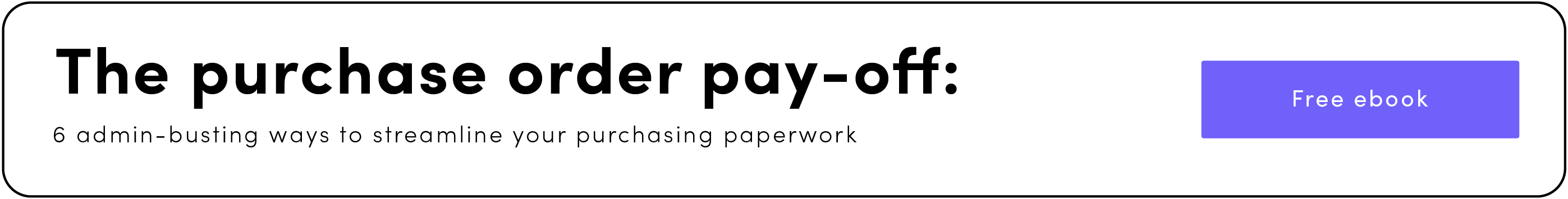 Download purchase order payoff ebook