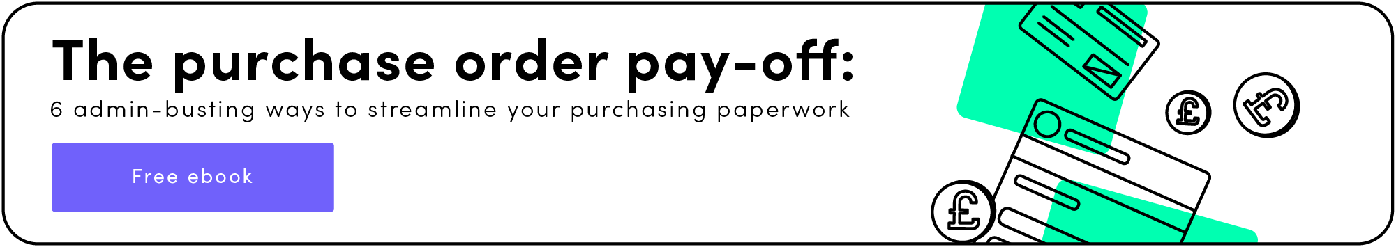 Download your copy of The Purchase Order Payoff