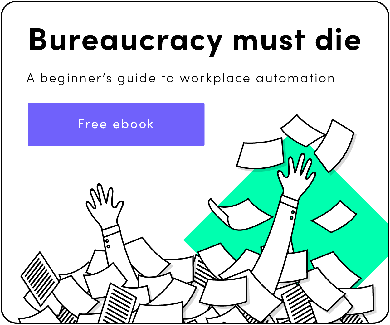 Bureaucracy must die eBook