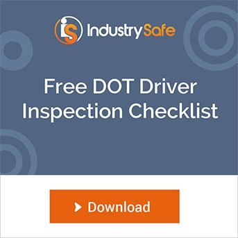 Download IndustrySafe's free DOT-compliant driver vehicle inspection checklist