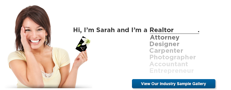 View Our Business Card Industry Sample Gallery