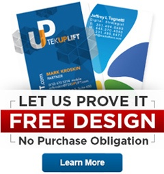 See your design on plastic, for free!