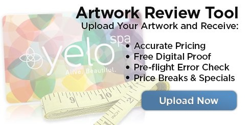 Have your artwork reviewed by our designers