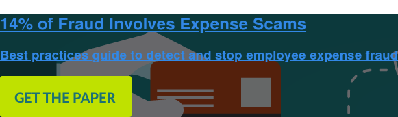 14% of Fraud Involves Expense Scams  Best practices guide to detect and stop employee expense fraud