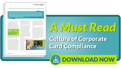 Culture of Corporate Card Compliance