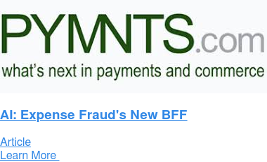 AI: Expense Fraud's New BFF Article Learn More