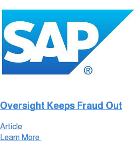 Oversight Keeps Fraud Out Article Learn More