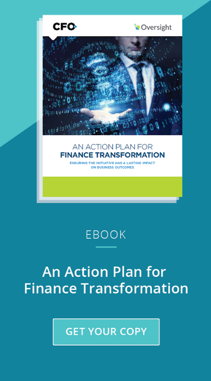 Get Your Copy of An Action Plan for Finance Transformation