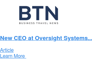 New CEO at Oversight Systems... Article Learn More