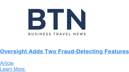 Oversight Adds Two Fraud-Detecting Features Article Learn More