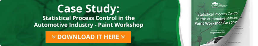 Statistical Process Control in Auto Industry: Paint Workshop Case Study