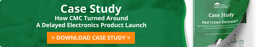 How CMC turned around a delayed electronics product launch case study