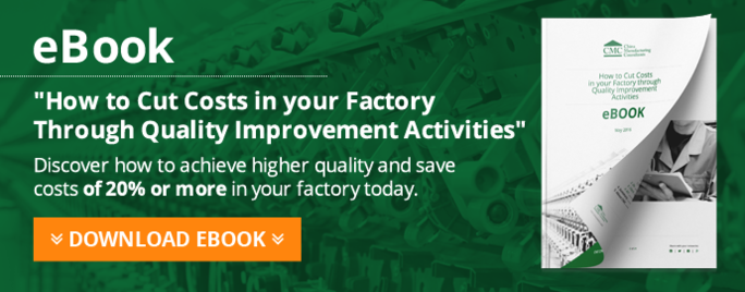'How To Cut Costs Through Quality Improvement Activities' eBook