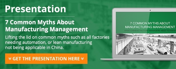 7 common myths about manufacturing management presentation