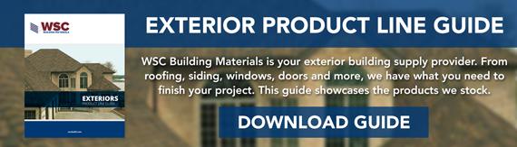 WSC Building Materials - Exterior Product Line Card