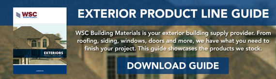 WSC Building Materials - Exterior Product Line Card