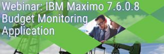 Budget Monitoring IBM Maximo Webinar Cohesive Solutions