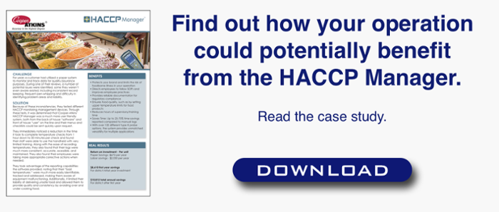 HACCP Manager Case Study CTA
