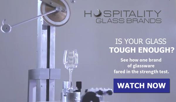 hospitality glass brands