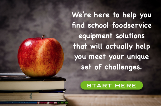 School Foodservice Equipment Consultation CTA