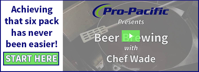 beer brewing with Wade Harris