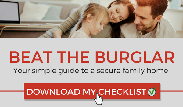 beat the burglar checklist