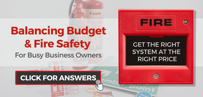 Balancing budget and fire safety for business owners