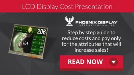 LCD Display Cost Presentation