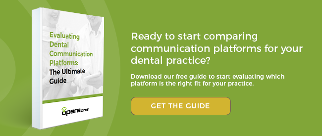 Ready to start comparing communication platforms for your dental practice? Get the free guide.