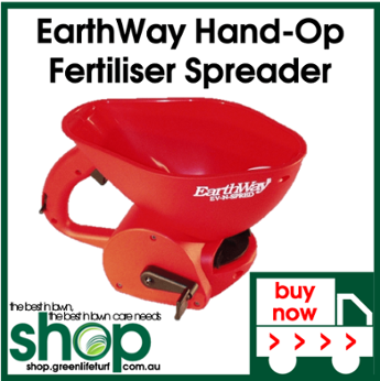 EarthWay Hand-Operated Fertiliser Spreader - Shop Online - Lawn Care Products